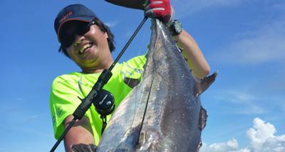 RP60慢摇钓竿+S系列鼓轮渔获(印尼钓场)