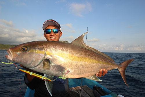 RP60/5慢摇竿 + F系列铁板轮渔获,章红(印尼钓场)
