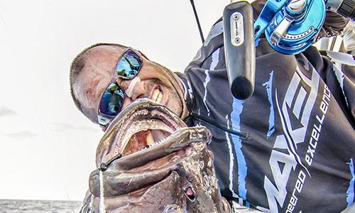 S系列海钓鼓轮美国版渔获,石斑(墨西哥钓场)
