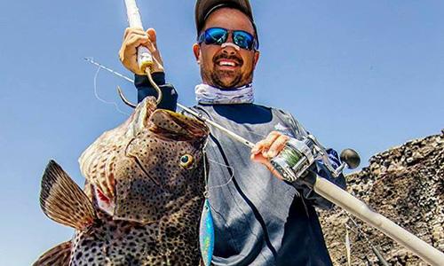 H系列海钓鼓轮美国版本HY20渔获,石斑 (墨西哥钓场)