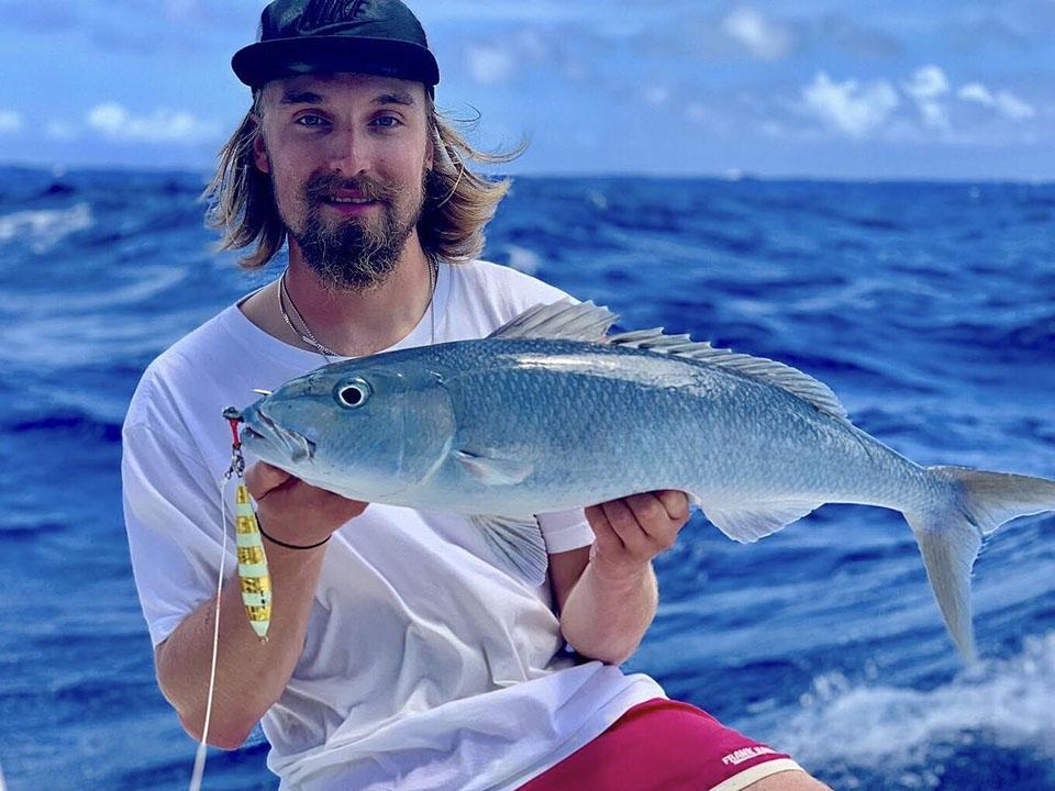 BB系列慢摇铁板渔获,蓝笛鲷鱼(毛里求斯)